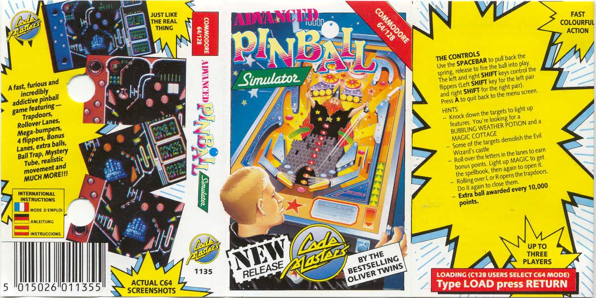 Advanced pinball simulator - gamespot