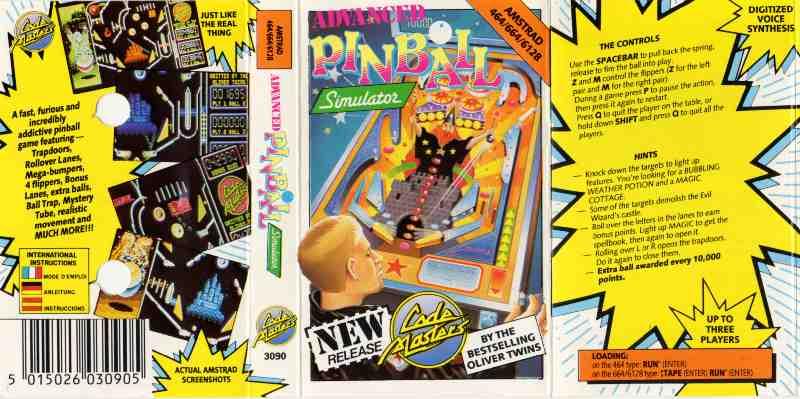Advanced pinball simulator  speccywiki