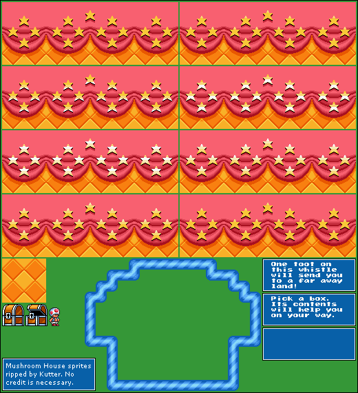 Snes Super Mario All Stars Super Mario Bros 3 Toad House