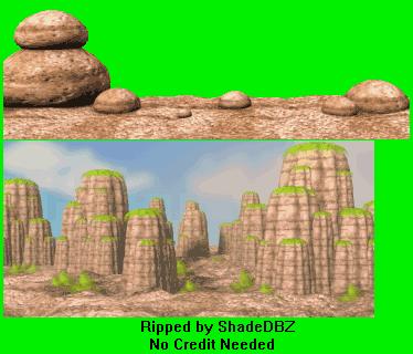 Game Boy Advance Dragon Ball Z Taiketsu Wasteland The